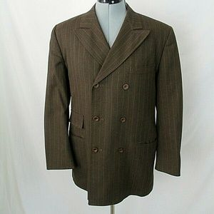 Vintage Centura Suit Jacket Double Breasted Wool
